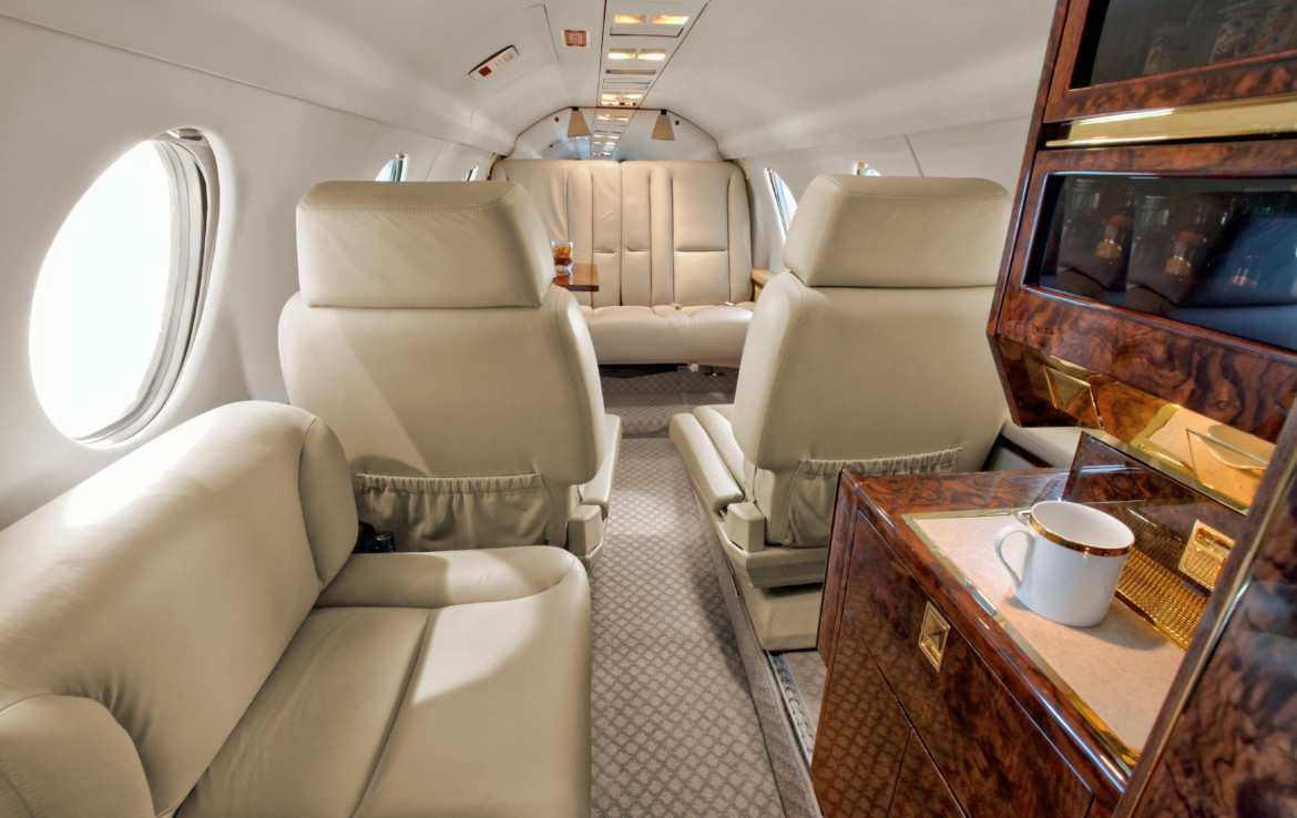 1988 Dassault Falcon 100 Private Jet For Sale presented by JetListings.com