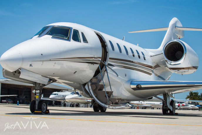2008 Cessna Citation 750 X Private Jet For Sale Presented By